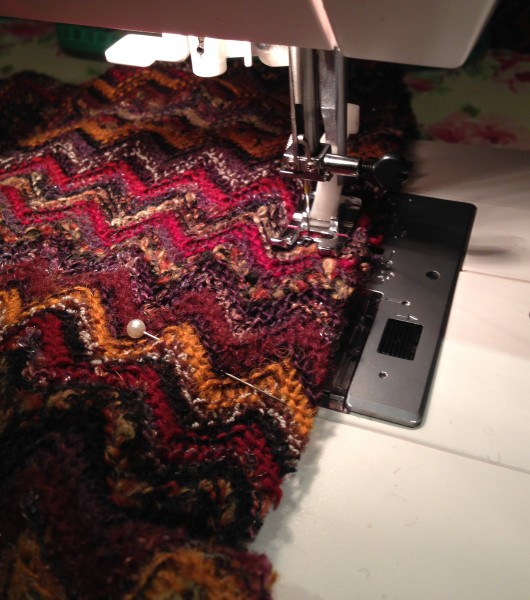 Missoni fabric sewing
